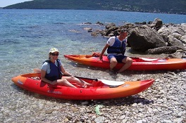 kayaking kotor days