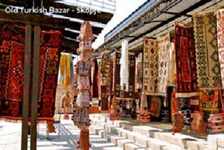 old turkish bazar skopje