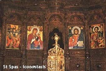 st. spas iconostasis